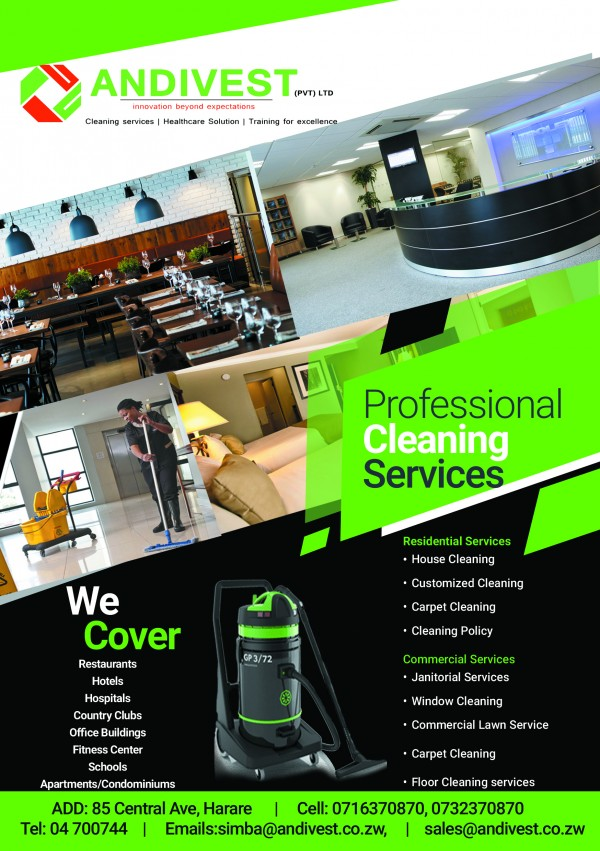 checksix cleanamate services pvt ltd  harare  zimbabwe